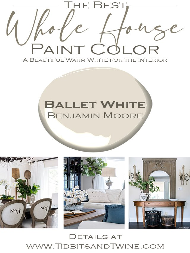 Meet The Perfect Neutral: Benjamin Moore Ballet White