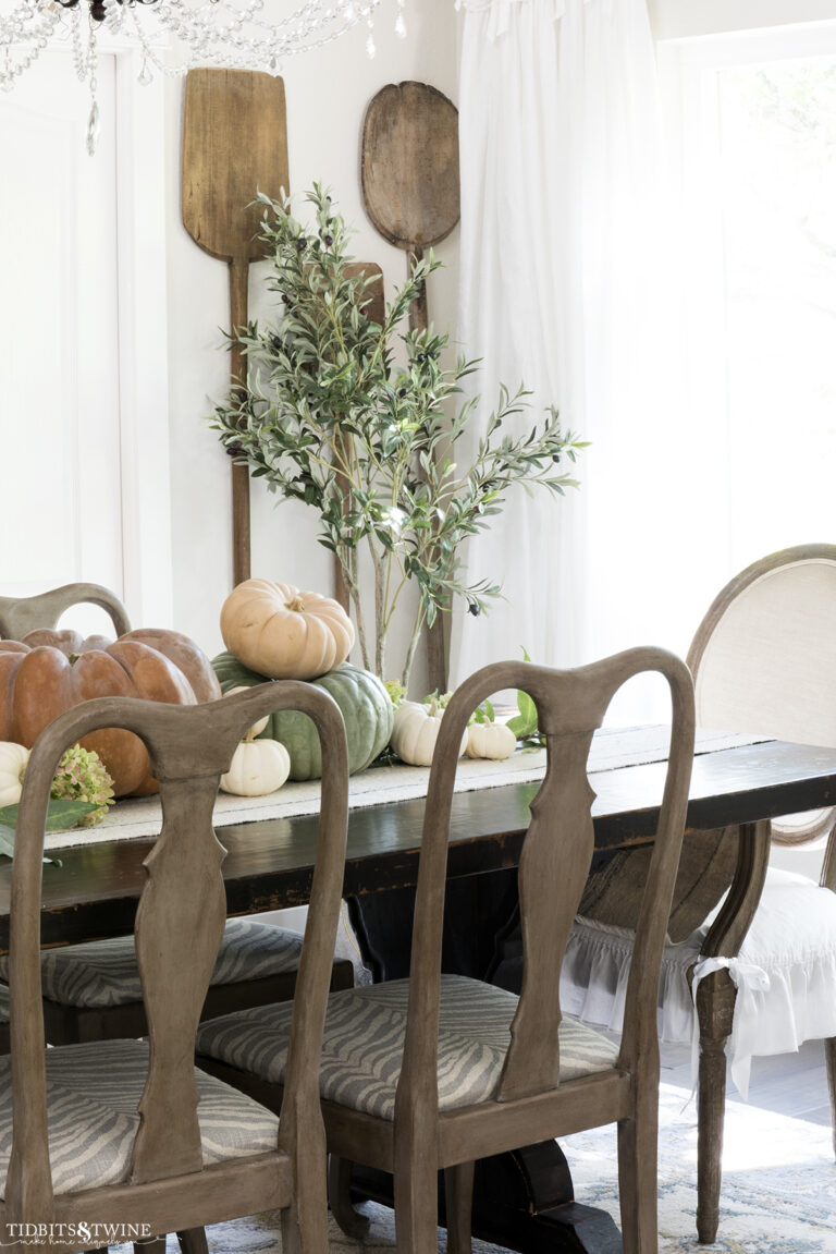 My 2021 Fall Dining Room Tour