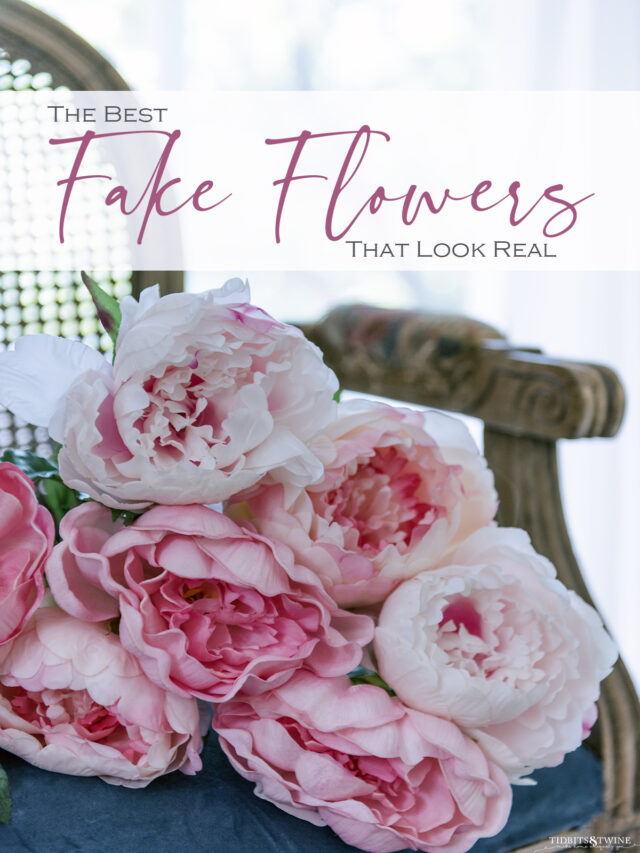 Fake Flowers that Look Real!